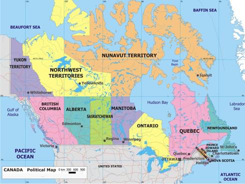 Dawson city karte